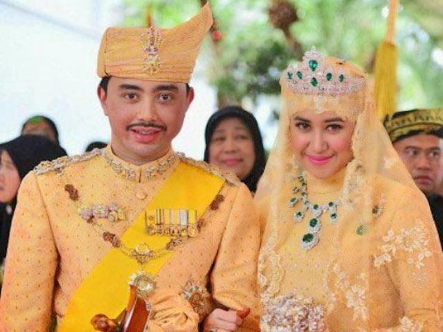 Istiadat Bersanding Putera Sultan Brunei Berlangsung Indah