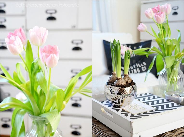 Wohnzimmer deko und endlich tulpen bellas herzenssachen - Deko wohnzimmer ...