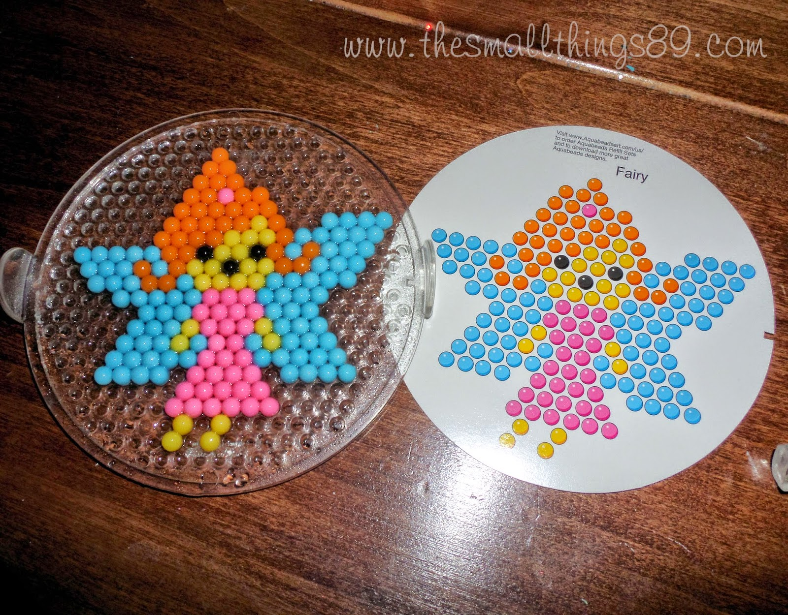 June The Small Things - Aquabeads templates