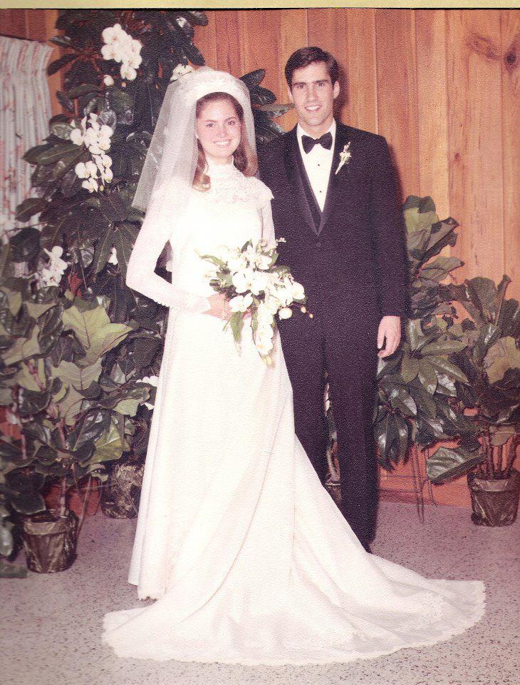 Ann romney wedding dress