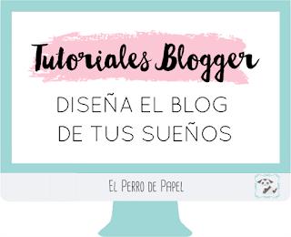 el perro de papel - diseño y personalizacion de blogs