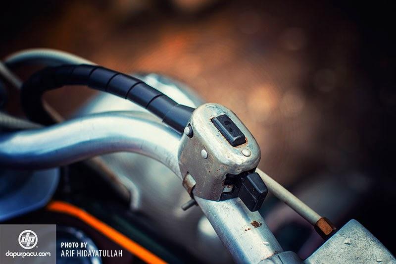 Gambar Motor Lambretta LD 125cc Modif, Klasik dan Antik