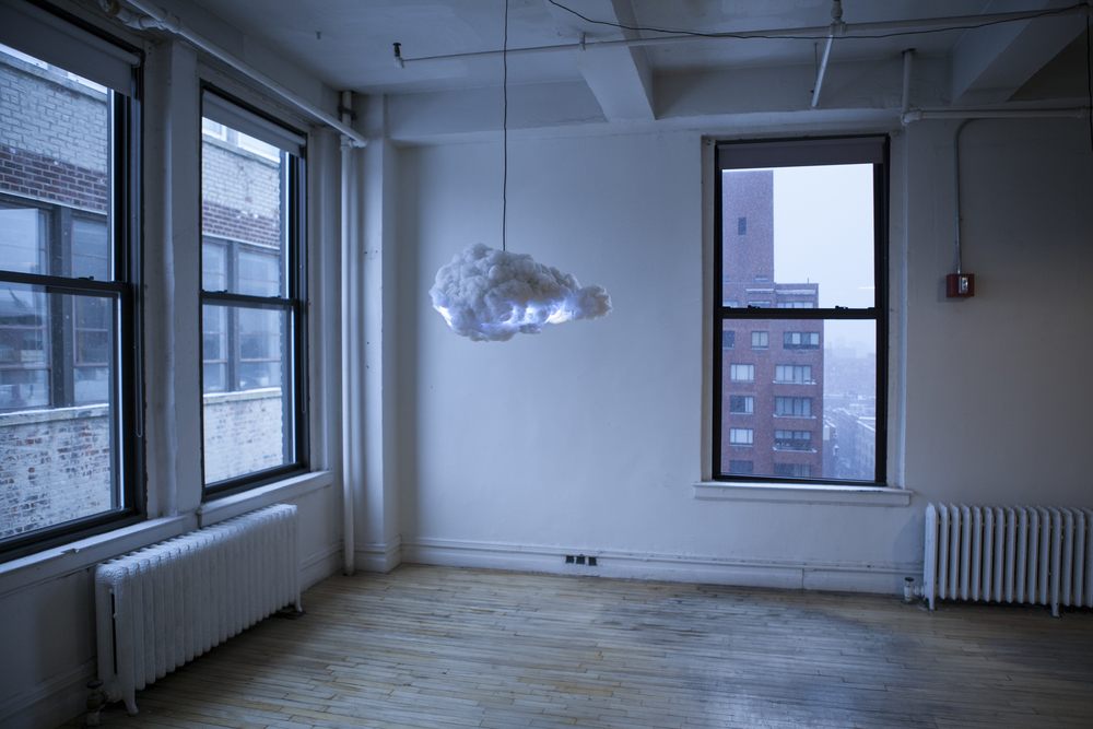 Cloud lamp by Richard Clarkson Studio