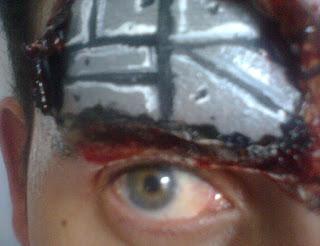Pintura Facial de Robô