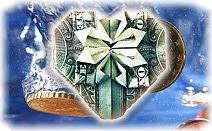 Деньги, подарок, вода