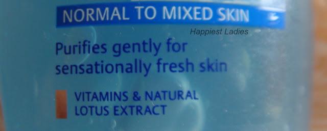 Nivea Visage Refreshing Face Wash SKin type+nivea face wash