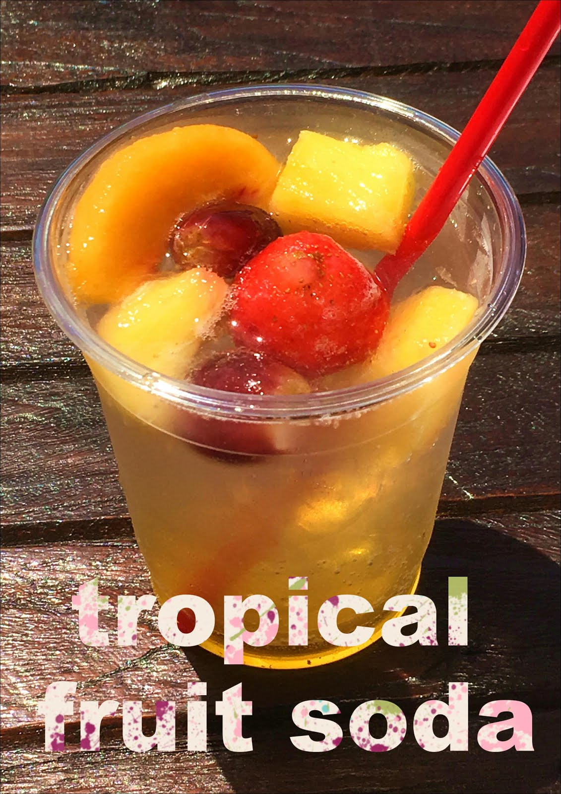 TROPICAL FRUIT SODA