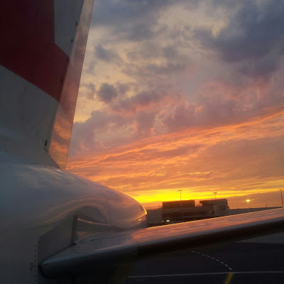 SUNSET AT LHR // INSTAGRAM