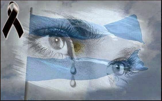El Pueblo Argentino está de luto hasta tanto se haga Justicia