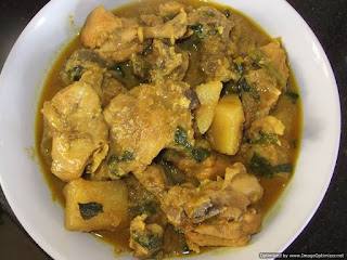 How to prepare Methi Murgh Recipe - Chicken with Fenugreek leaves