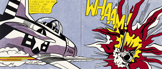 Roy Lichtenstein, Whaam! 1963