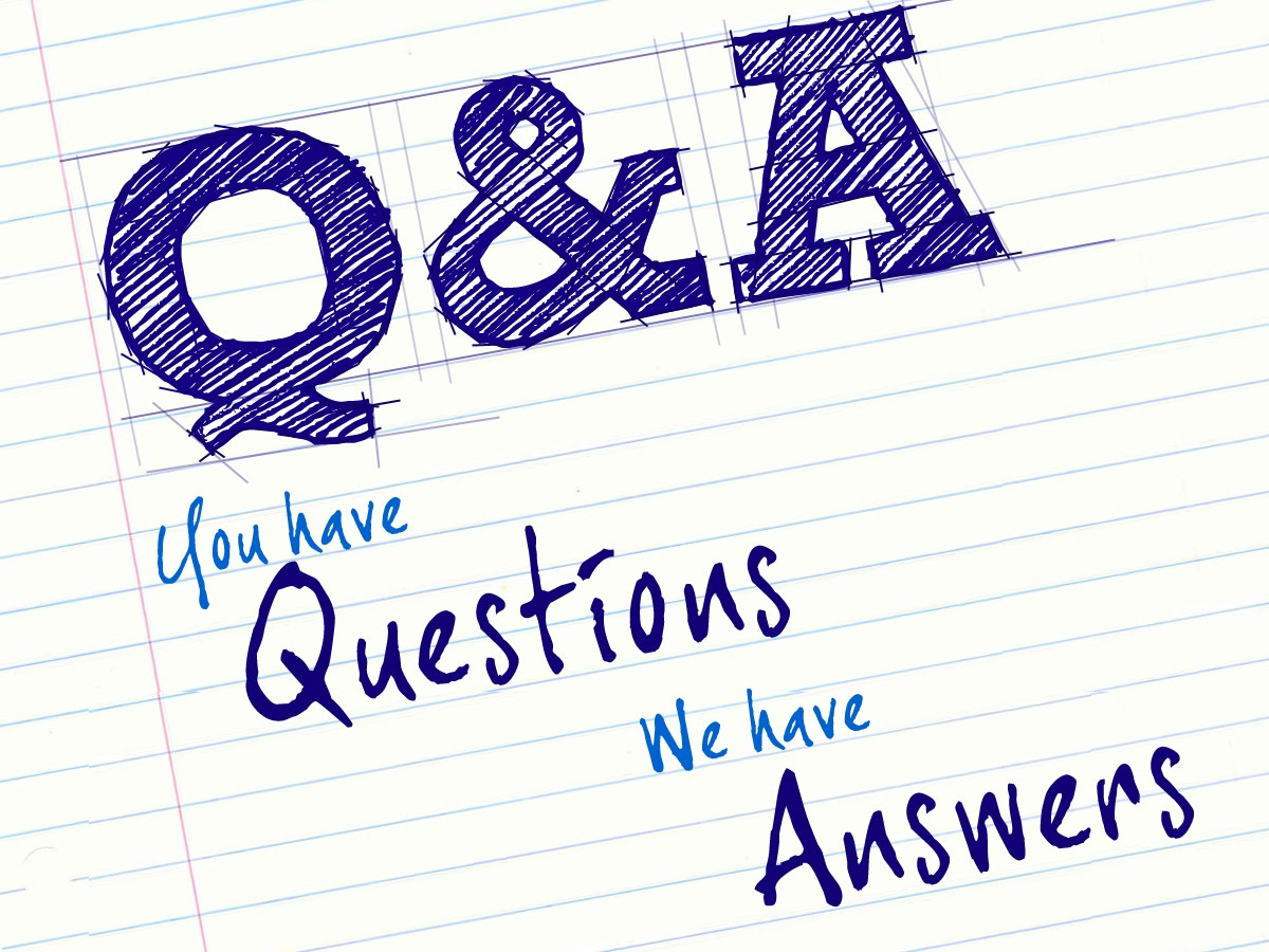 Answers to your questions 16