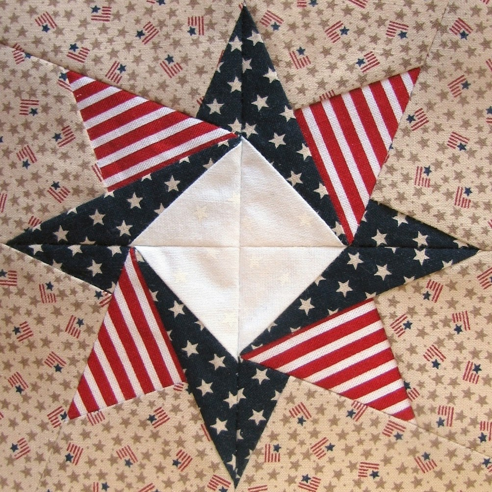 Such A Sew And Sew Zig Zag Flag And Other Patriotic Quilt Blocks