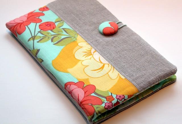 Текстильная обложка для блокнота своими руками