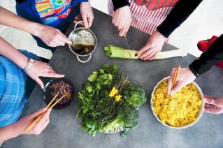 Viaggi e ricette corsi cucina vegetariana a il richiamo nel bosco parma - Corsi di cucina parma ...