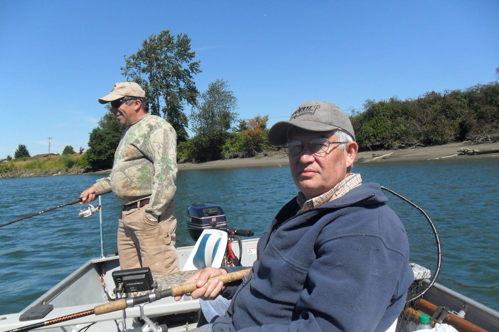Grandpa jim 39 s garden salmon fishing on the snohomish for Snohomish river fishing