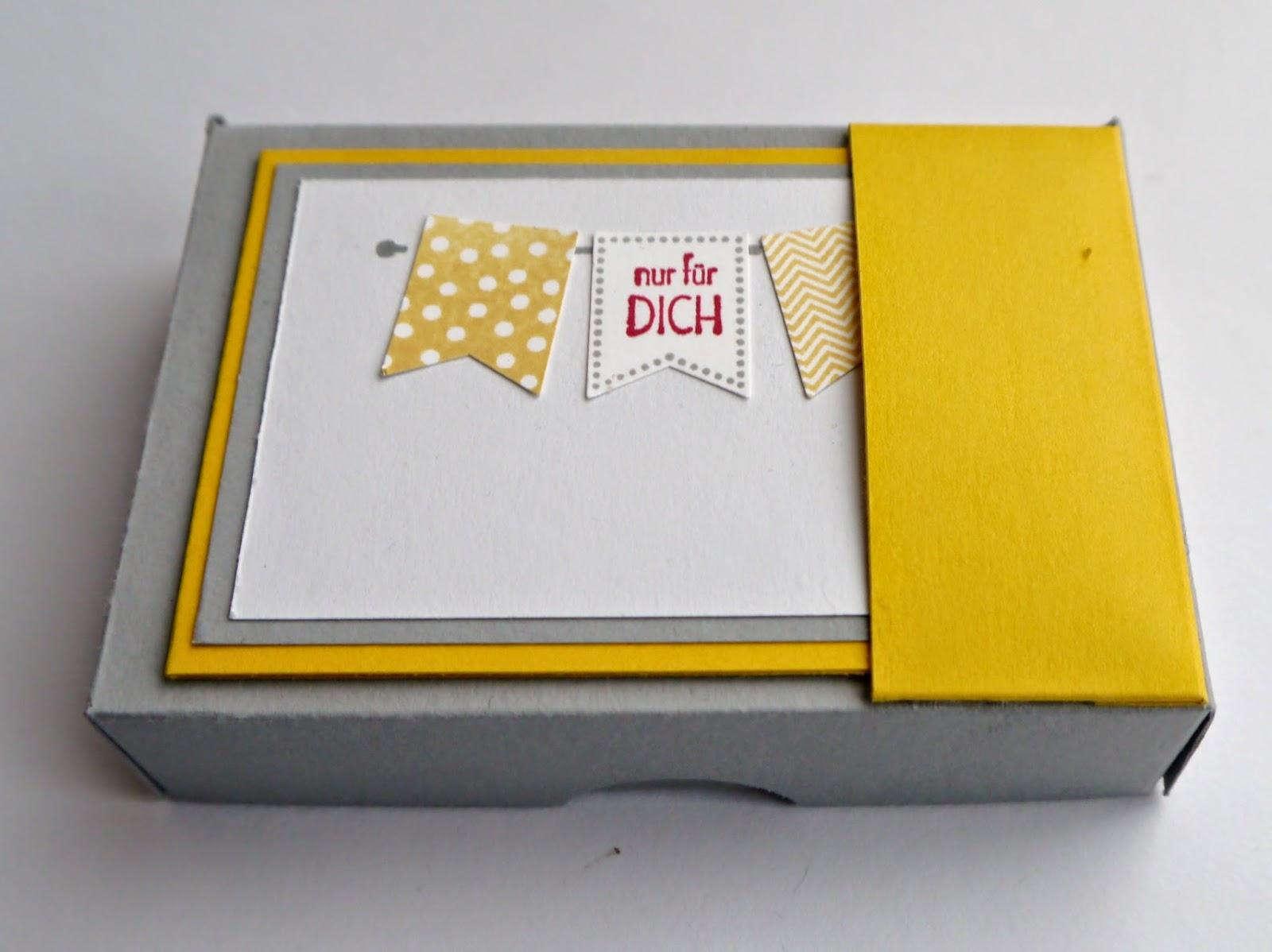 schnecke 39 s kreativ laden kleine box mit karte. Black Bedroom Furniture Sets. Home Design Ideas