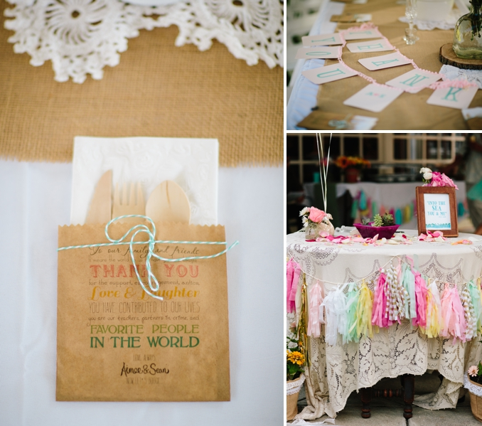Aimee and Sean's gorgeous handmade Hawaiian wedding by STUDIO 1208
