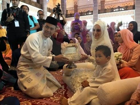 Selamat pengantin baru Hanez Suraya Romie
