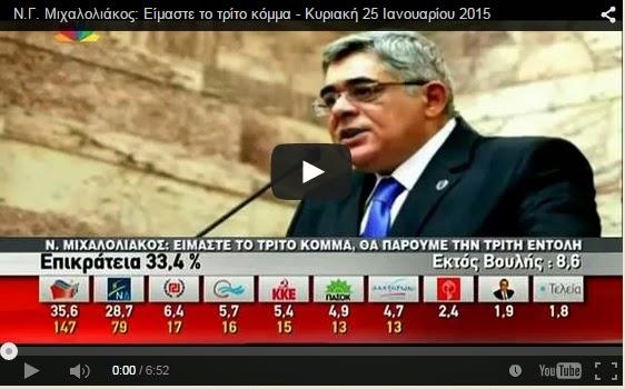 Μαλλιοτραβήγματα Συριζαίων και Κανέλλη για τις δηλώσεις του Αρχηγού της Χρυσής Αυγής στο Star ΒΙΝΤΕΟ