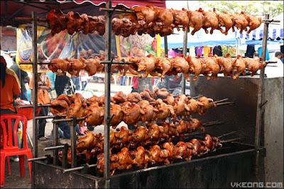 ayam golek sedap bazar ramadhan