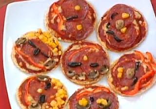 Receta Mini Pizzas Deliciosas y Familiares