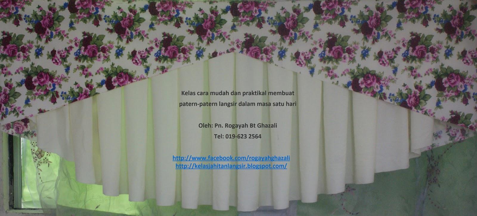 Belajar Jahit Langsir Cara Mudah Hanya dlm 1 Hari: June 2012