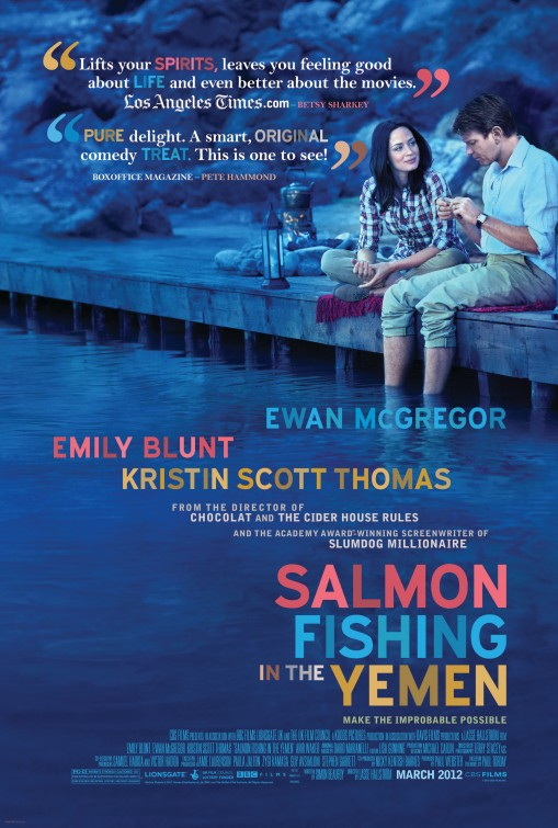 39 salmon fishing in the yemen 39 romantic comedy denatured for Salmon fishing in the yemen