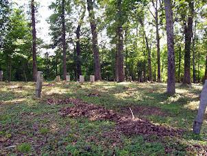 Bush River Quaker Cemetery, Newberry SC