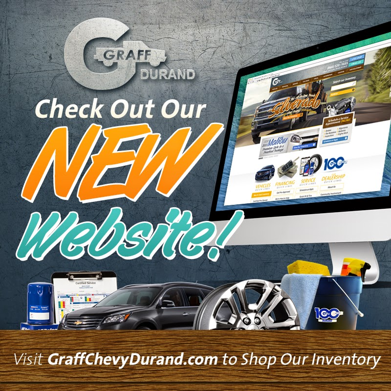Visit the BRAND NEW GraffChevyDurand.com!