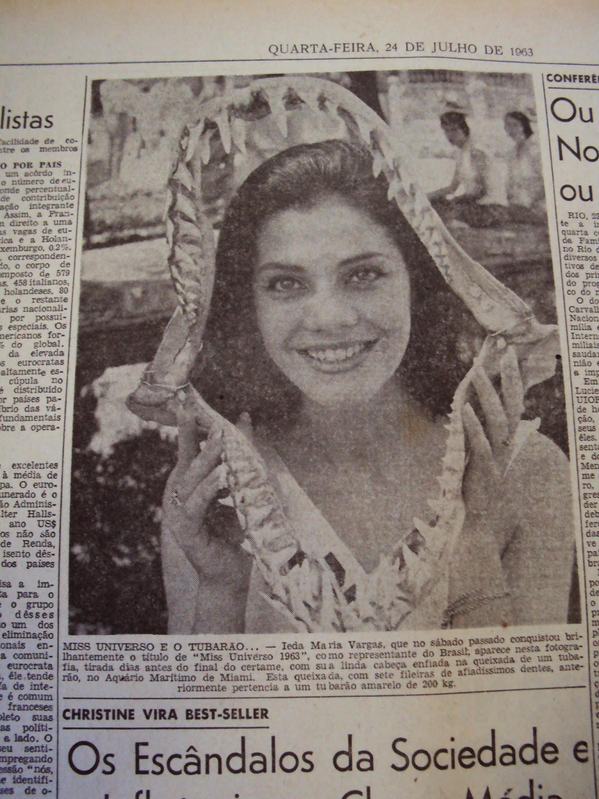✾◕‿◕✾ Galeria de Ieda Maria Vargas, Miss Universe 1963.✾◕‿◕✾ Universiade63,+correio+1963,+11.2.14+001
