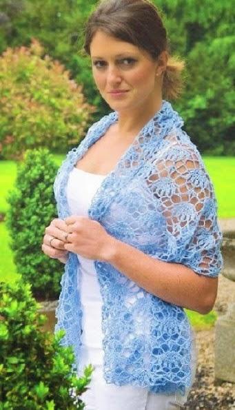 Chal rectangular crochet