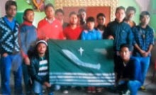 New GNSF cadres in Kalimpong