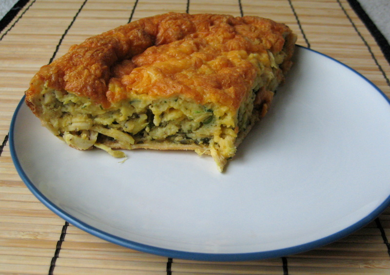 Crafts, Cavies and Cooking: Chicken Quesadilla Pie