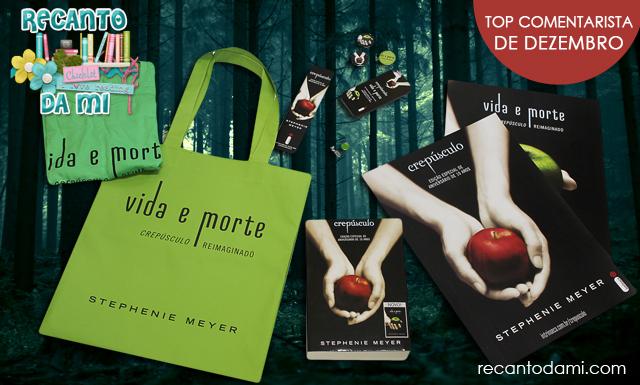 Promoção Vida e Morte Crepúsculo Edição Comemorativa Stephenie Meyer Editora Intrínseca