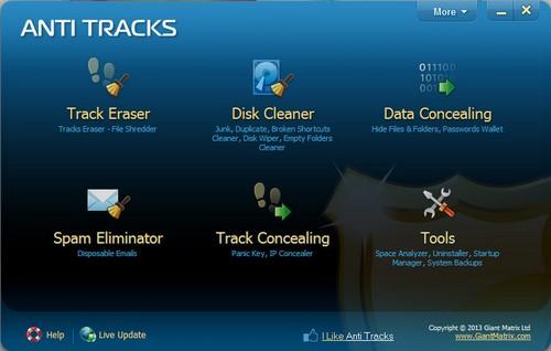 Anti Tracks Free Edition 9.0.1.107
