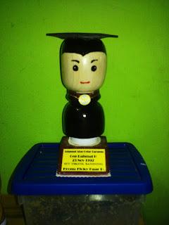 Boneka Kayu Bentuk Custom