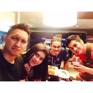 Foto_Juan Christian Dengan Syahnaz Sadiqah Adjie Pangestu dan Ichal Muhammad