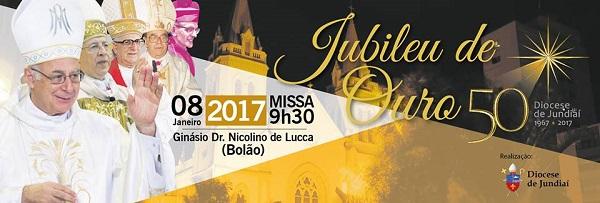 Diocese de Jundiaí completa 50 anos
