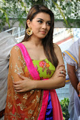 Hansika Motwani Photos at Durga movie launch-thumbnail-6