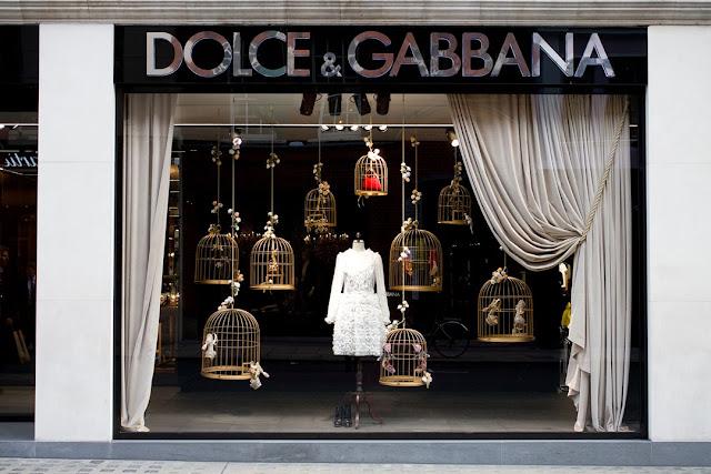 Natal, Natal em Londres, Montras de Natal, Montras de Natal Londres, Dolce & Gabbana, Montra Dolce&Gabbana