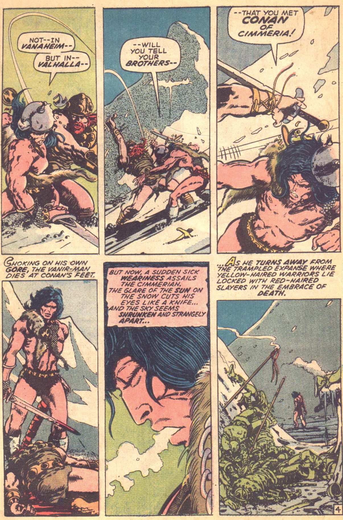 Conan the Barbarian (1970) Issue #16 #28 - English 4