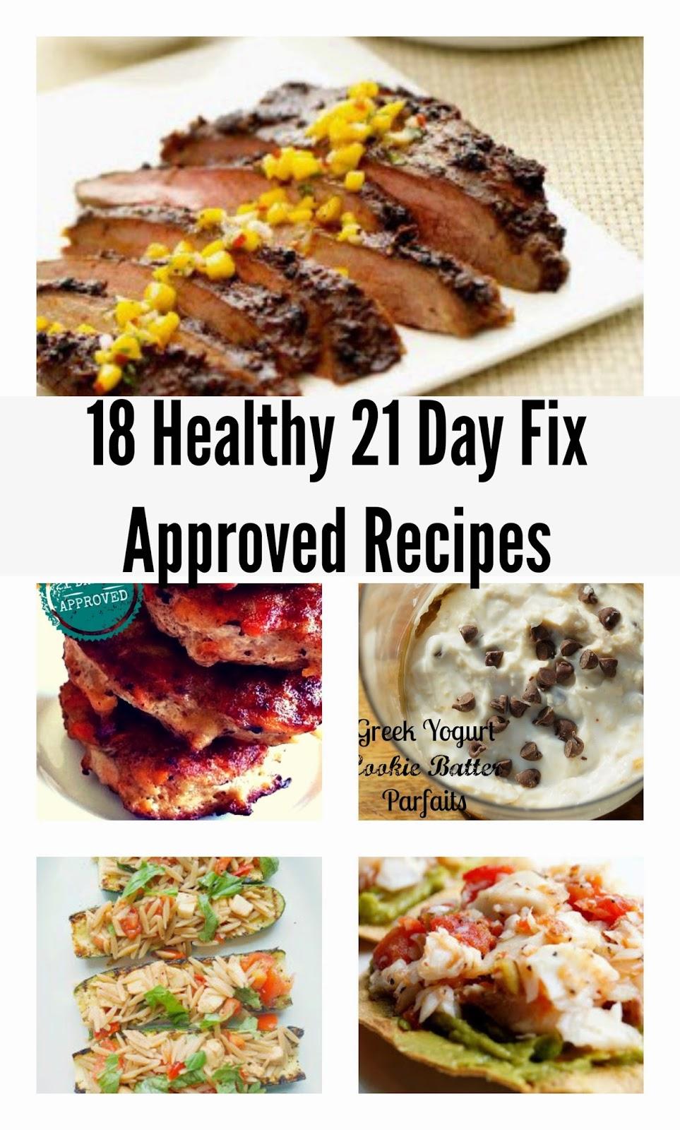 recipes 21 day fix