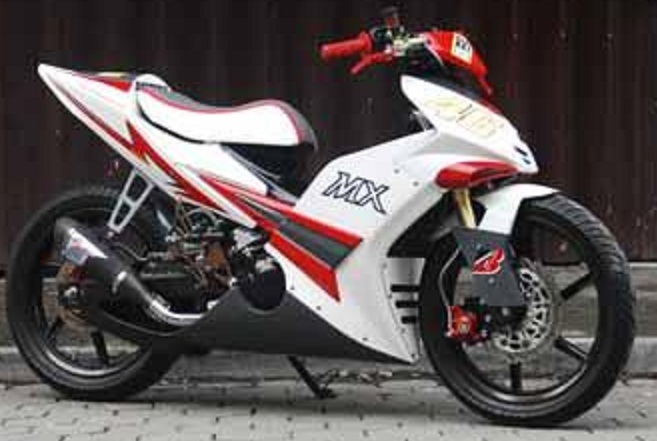 Modifikasi Jupiter Mx Lc 2013