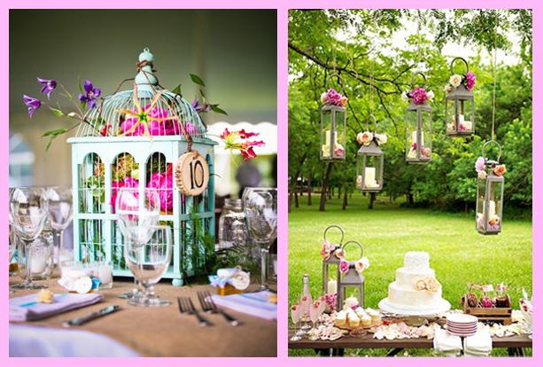 Ideas y cosas para tus fiestas infantiles mariposas - Decoracion de bodas en jardines ...