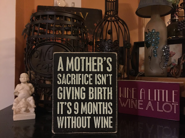 wine blogging while pregnant