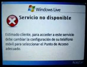 Error Windows Live Samsung Chat 335