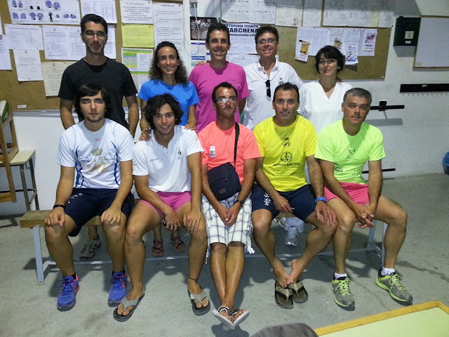 Nueva directiva Club Atletismo Filipides 2013-2015