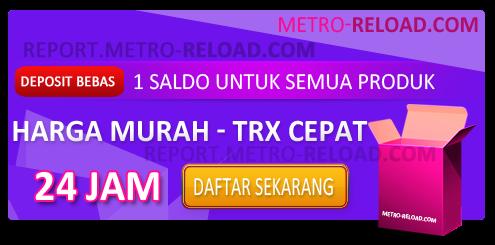 Cara Daftar Master Dealer Pulsa Metro Reload