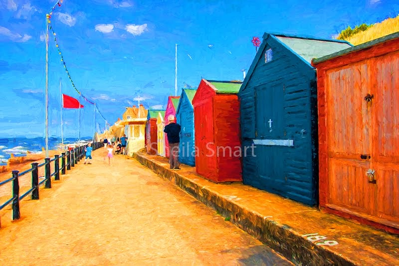 Beach huts at Cromer